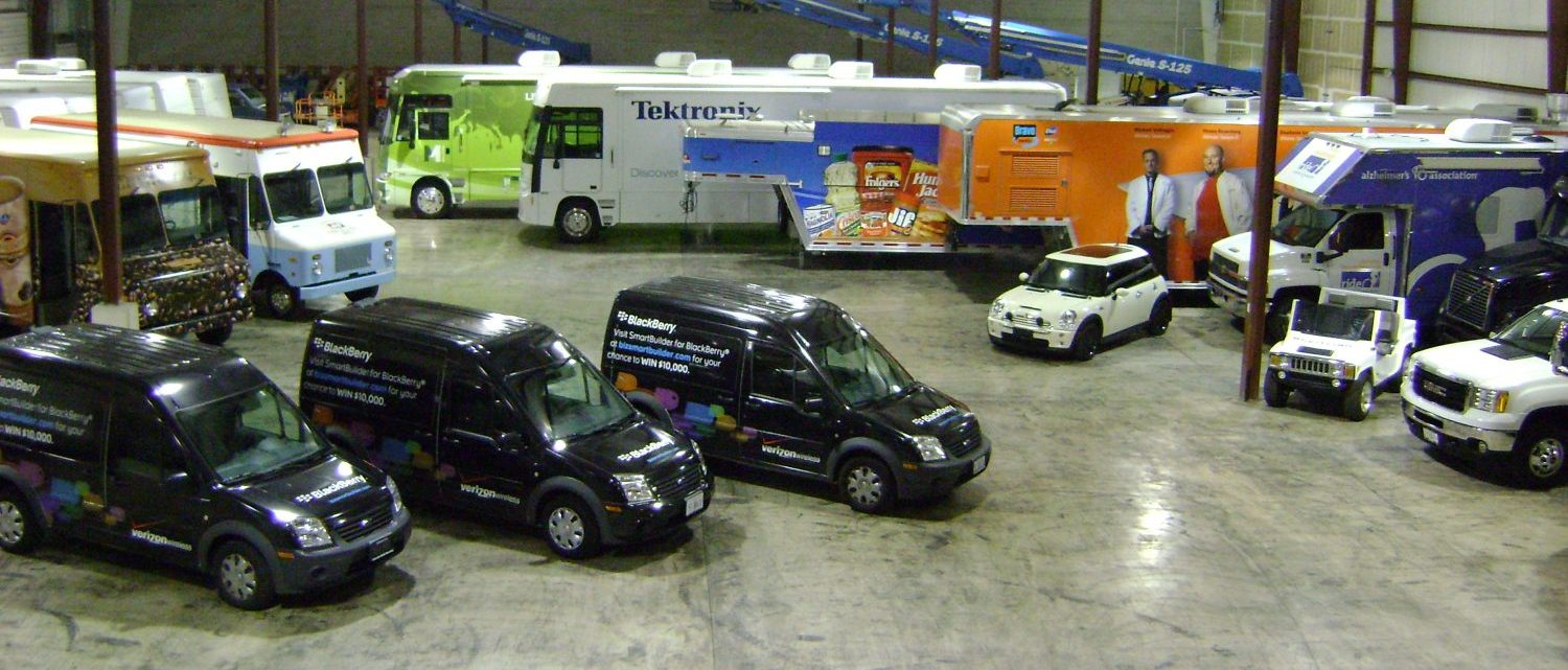 mobile tour vehicle inventory