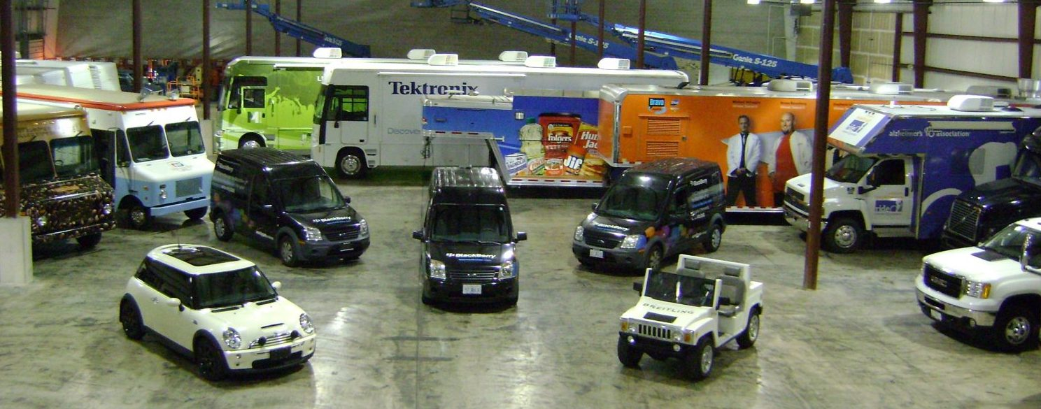 experiential marketing vehicle inventory