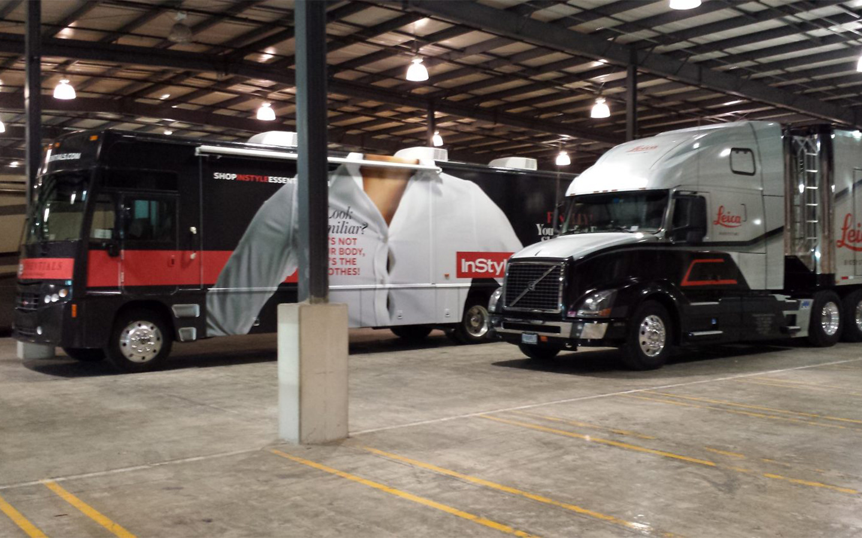 mobile marketing trailer storage