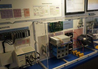 mobile equipment demonstration