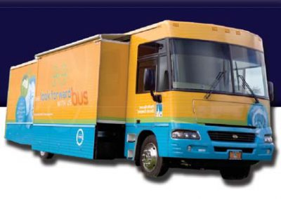 pg&e experiential marketing vehicle